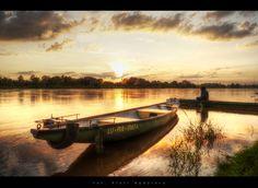 Boat... by ImI  on 500px, #Puławy #Wistula #Wisła, Poland