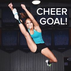 Yep, LIKE if jumps like this are on your cheer goal list too!  For tons of cheerleading jump tips and practice exercises, check out CheerleadingInfoCenter.com