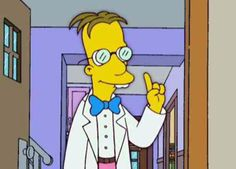 John Frink Jr. from The Simpsons   Buzzfeed: Fake TV Professors You Didn't Know You Could Rate On RateMyProfessors.com