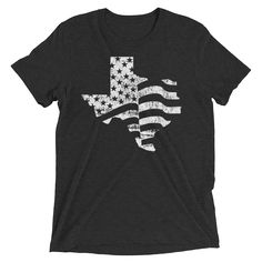 43c3360bb23b American Flag Texas Short Sleeve T-shirt