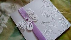 Partecipazioni Sognicreativi Wedding and Events Wedding Cards, Wedding Invitations, Christmas Journal, Embossed Cards, Big Shot, Ladybug, Projects To Try, Wedding Inspiration, Butterfly