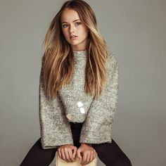 This picture of Kristina Pimenova is so adorable And looks pretty,in this picture she's only 11 years old but she looks older Young Models, Child Models, Kristina Pimenova 2017, Kristina Pímenova, Russian Beauty, Magazines For Kids, Russian Models, Beautiful Children, How To Look Pretty