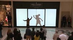 Disney Characters Surprise Shoppers
