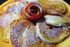 Apfelringe im Teigmantel, ein tolles Rezept aus der Kategorie Snacks und kleine Gerichte. Bewertungen: 95. Durchschnitt: Ø 4,3.