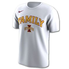3423d2fc74cce5 Nike® White Family Short Sleeve T-Shirt