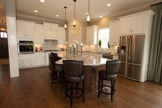 29 - Kitchen Inspiration   Michael David Design Center   #interiordesign #kitchen #backsplash #tiledesign #luxuryhome #woodflooring #dreamhome
