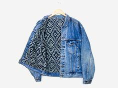 Boho Lined Denim Jacket
