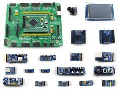 133.76$  Watch now - http://aliydx.worldwells.pw/go.php?t=32792632862 - Modules STM32 Board STM32F407ZxT6 ARM Cortex-M4 STM32 Development Board+ 3.2inch 320x240 Touch LCD+16 Module Kit = Open407Z-C Pa 133.76$