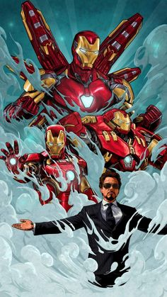 Legend Tony Stark Iron Man iPhone Wallpaper - iPhone Wallpapers