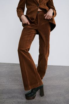 1435330d3148 Corduroy trousers with pocket
