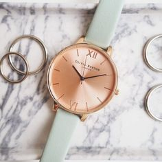 Going marbles for this brand new season Mint & Rose Gold big dial! #stylemyOB http://www.oliviaburton.com/big-dial-c5/big-dial-mint-and-rose-gold-p411