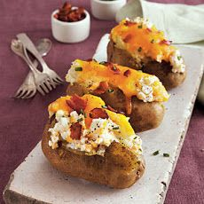 Loaded Twice-Baked Potatoes Weight Watchers Recipe