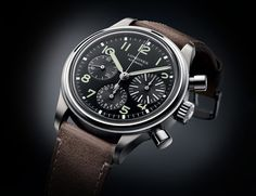 Harkening back to a military chronograph from the '70s, the Big Eye puts legibility and classic looks first.