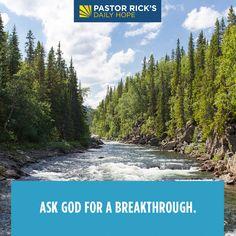 Prayer Message, Faith Prayer, 2 Chronicles 20, Bible Verse Pictures, Bible Verses, Purpose Driven Life, Rick Warren, Bible Teachings, Seeking God