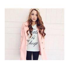 gabriella de martino pink coat