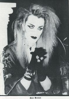 blkstiletto:  Sean Brennan of London After Midnight, Ghastly Magazine Issue 2, 1992scanned