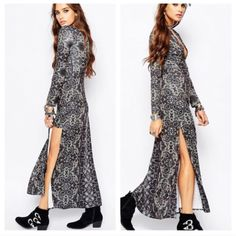 Free People cabaret maxi dress New with tags, gorgeous Free People cabaret long maxi dress. Fits true to size. Free People Dresses Maxi