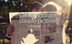 Cute Couples Bucket List | cute couple pics | Bucket List, Quotes, Etc. (: