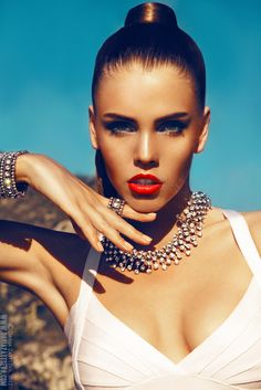The most beautiful makeup for a woman is passion. But cosmetics are easier to buy.    Yves Saint Laurent