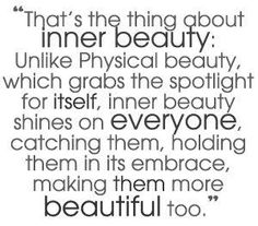 If only I could truly transfer these words to my heart. Don't strive to be beautiful, let Jesus make you beautiful.