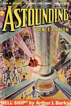 Astounding science fiction...