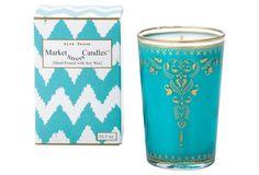 Moroccan Aqua Henna Candle, Tea