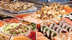 Weekend Full Buffet Dinner Terrace Restaurant http://www.hotelokuramacau.com/en/offer/food_weekend_buffet.php