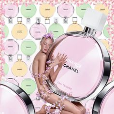 Chance by Chanel. This is one of my favorite perfumes.