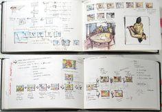 sketchbook graphic design