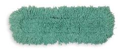 RUBBERMAID J555 GREEN Dust Mop,36 In,Green by Rubbermaid. $22.18. Dust Mop, Material Cotton/Synthetic, Green, Launderable Yes, Length 36 In., Width 5 In., Opening Type SlotFor Use With Mfr. No. BH 24536 Frame, Mfr. No. BH 31000 Handle