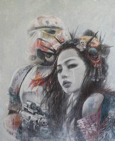 Life is art – Summer Portrait Illustration, Digital Illustration, Fantasy Illustration, Luis Royo, Star Wars Art, Illustrations Posters, Animal Illustrations, Cool Art, Awesome Art