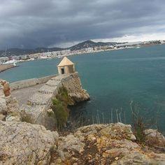 """Why Don't You Just Leave?"" #ibiza #exploring #shittyweather #port #eivissa #katsadventurez #athomebored"