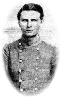 Capt. Ike Turner, Co. K, 5th Texas Infantry, Hood's Texas Brigade.