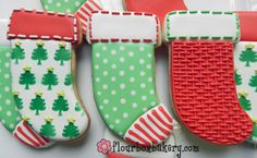 Day 7 of Cookie Videos: How to Decorate a Stocking Cookie