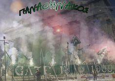 Panathinaikos - Gate 13 by PanosEnglish.deviantart.com on @DeviantArt