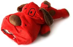 DEI Plush Pooch Lucky Dog Collection with 3 Tennis Balls Red >>> Find out more about the great product at the image link.(This is an Amazon affiliate link)
