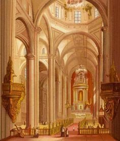 """""""Catedral de México"""" en """"Carta Eclesiastica"""". Antonio García Cubas. México, 1885"""