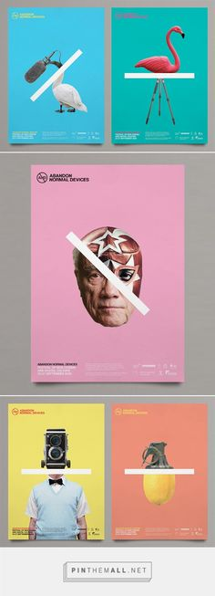 AND Film Festival Branding by Marcus McCabe | Inspiration Grid | Design Inspiration - created via https://pinthemall.net