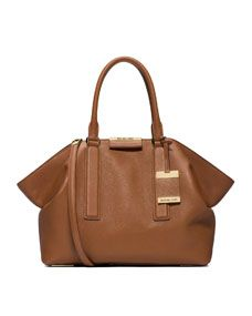 Michael Kors Large Lexi Pebbled Satchel