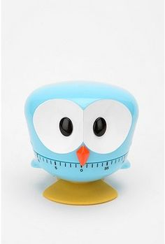 Owl Kitchen Timer. $24 #21147582  COLOR: Sky also in Red and Yellow. http://re.pn/b/bB2L