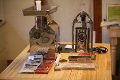 Sausage Making Equipment - TSM Grinder and Stuffer