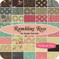 Rambling Rose Layer CakeSandy Gervais for Moda Fabrics