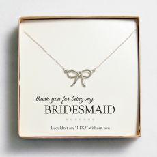Bridesmaid Necklace Gift Set - Pink Frosting Wedding Shop