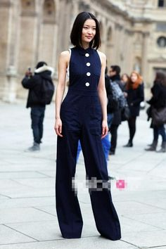 5e8139d13b1 Comfortable Jumpsuit Street Style Ideas For Inspiration