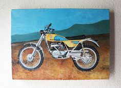 Your picture oil Painting by memorieswarehouse on Etsy,