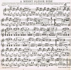 a merry sleigh ride printable vintage christmas sheet music also see holidaysheetmusicdotnet for lots of free printable music