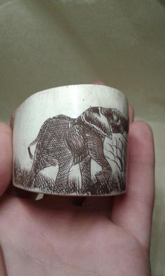 Antique Xing / Qing/ Ching Chinese ox bone by Prelovedbargains
