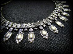 Kuchi  Necklace  Vintage Tribal   belly dance  by ChandrikaShop, $45.00