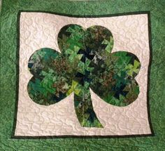 shamrock quilt patterns | SHAMROCK TWISTERThis is an original pattern designed by our very own ...