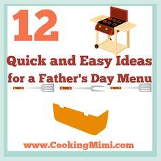 father's day menu aberdeen